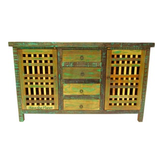 Buffet Cabinet/Sideboard Eco-Friendly Reclaimed Solid Wood