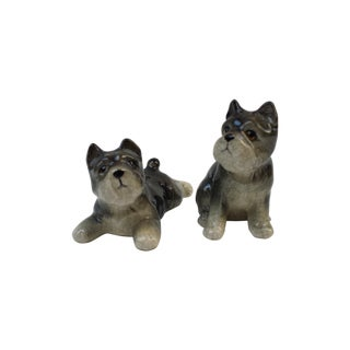 Scottie Dog Salt and Pepper Shakers - A Pair