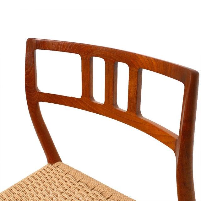 Danish Modern Teak Niels Moller #79 Chairs - S/6 - Image 7 of 7