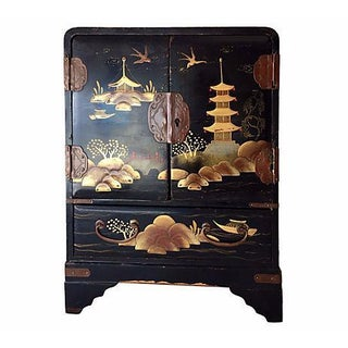 Chinoiserie Jewelry Armoire