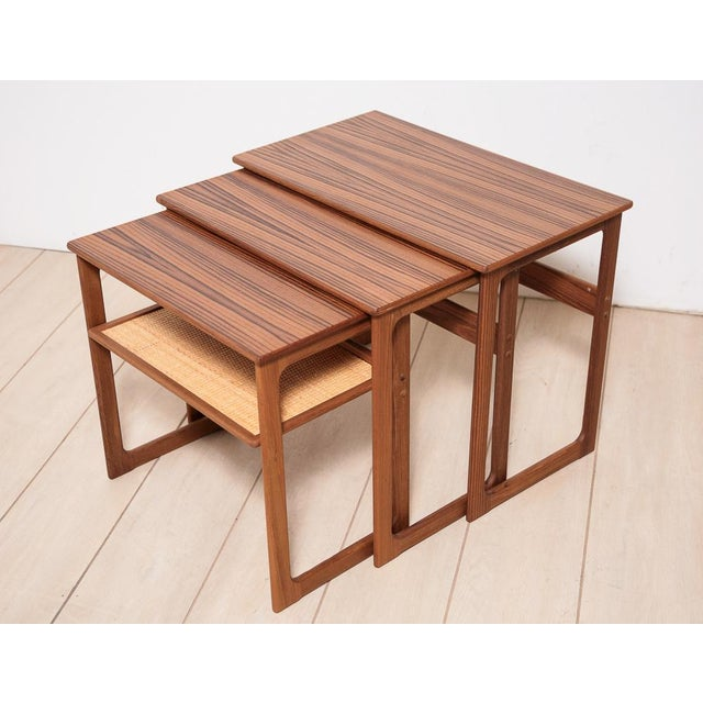 Johannes Andersen Nesting Tables - Image 3 of 11