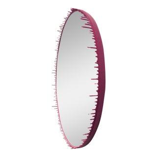 Fuchsia Drip Mirror-Elyse Graham