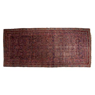 "Antique Karabagh Rug Runner - 6'1"" x 13'8"""