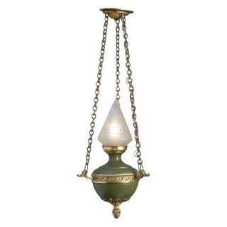 Antique Empire-Style Lantern from France, circa 1910