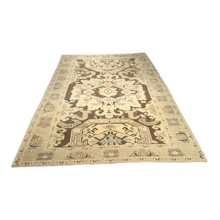 Bellwether Rugs Vintage Turkish Oushak Rug - 6'x9'5""