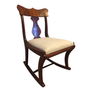 Early Twentieth Century Wooden Rocking Chair