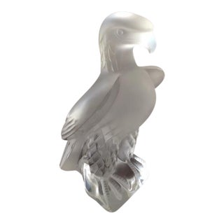 Lalique Liberty Eagle Statue Sculpture