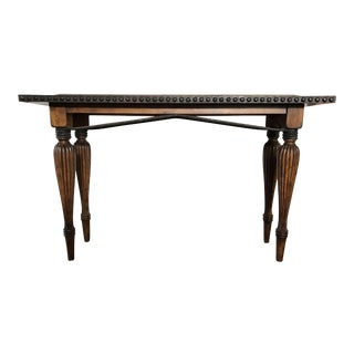 Rustic Wooden Console Table