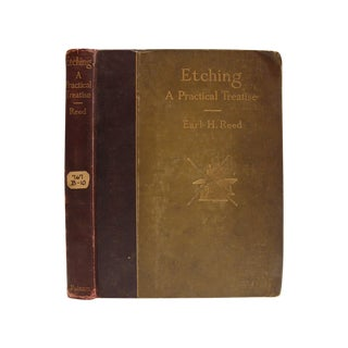 Etching: A Practical Treatise by Earl H. Reed
