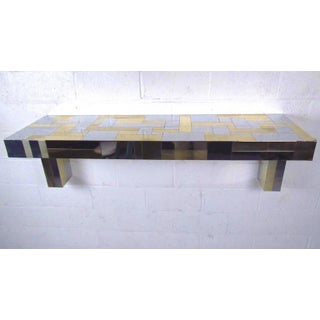 Paul Evans Patchwork Cityscape Wall Console for Directional