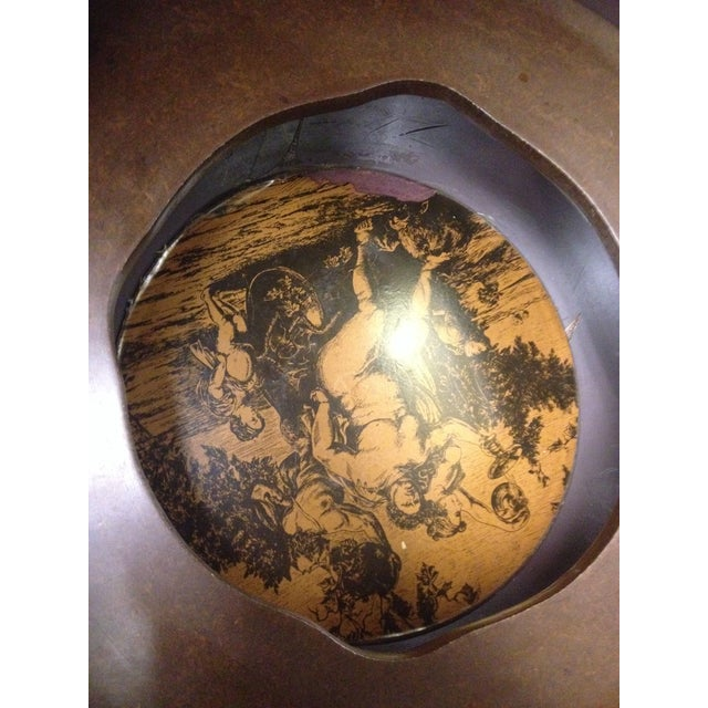 Vintage Mid-Century Rotating Old World Globe Bar - Image 6 of 7