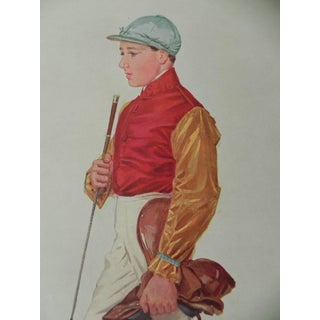 1909 Vanity Fair Jockey Print - Frank Wootton
