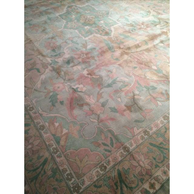 """Pasargad N Y Pastel Colors Tabriz Rug - 8'10"""" X 12' - Image 2 of 6"""