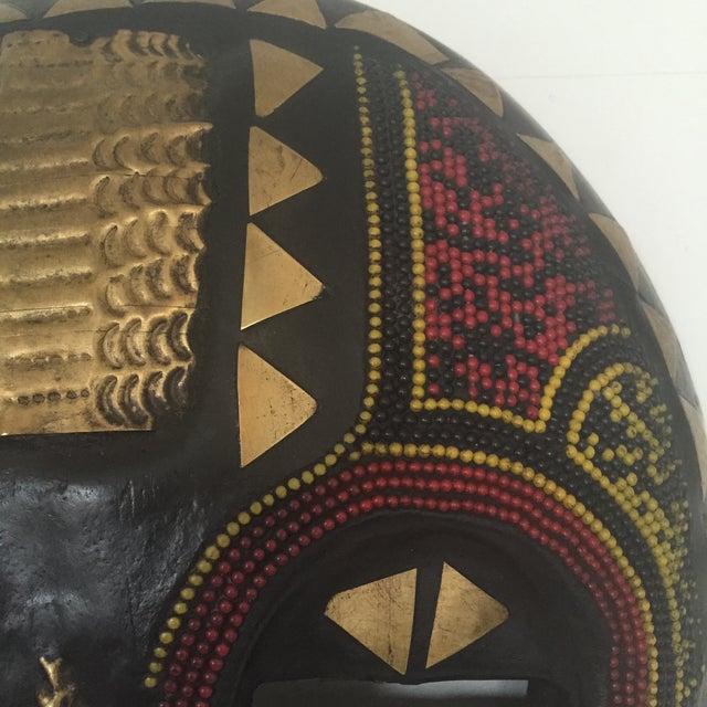 African Ghana Baluba Moon Mask - Image 3 of 6