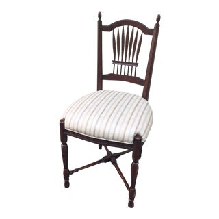 Walter E Smithe Americana Upholstered Side Chair