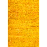 "Image of New Hand-Knotted Overdyed Yellow Rug - 3'1"" X 5'3"""