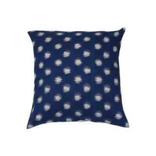 Polka Dot Ikat Pillow