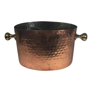Vintage Copper Double Champagne Bucket