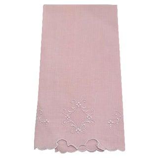 Peach Madeira Linen Hand Towel