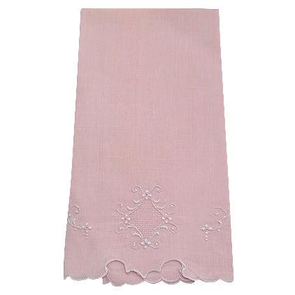 Peach Madeira Linen Hand Towel - Image 1 of 2