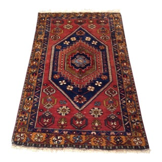 Turkish Anatolian Handmade Rug - 2′11″ × 5′3″