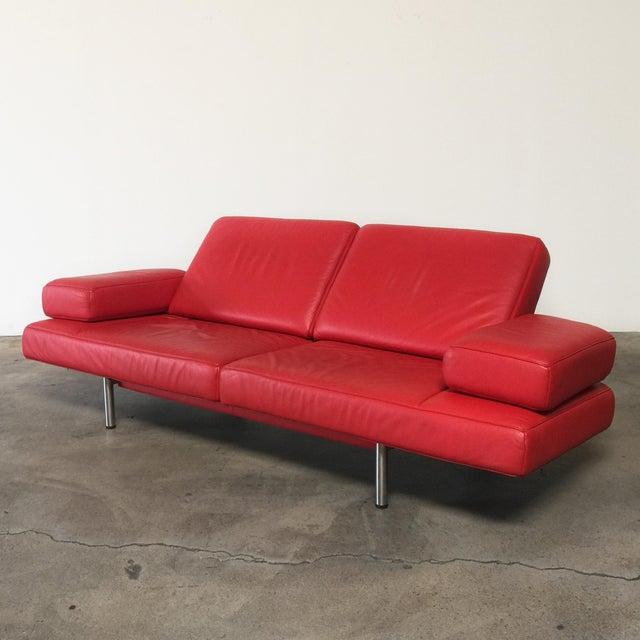 De Sede Ds-460 Multifunctional Sofa Red - Image 3 of 11