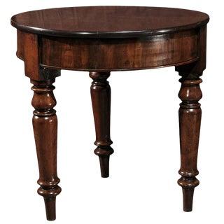 English Mahogany Round Table