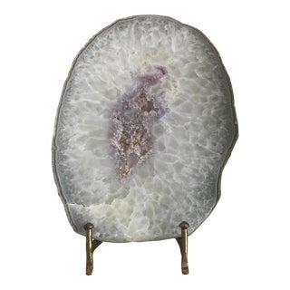 White & Amethyst Crystal