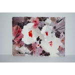 Image of Vintage Floral Abstract Watercolor