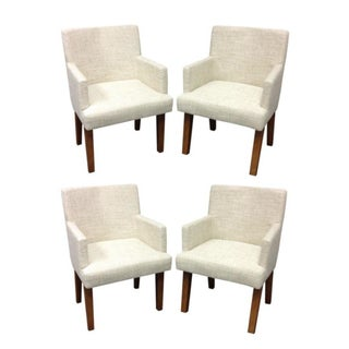 Kreiss Upholstered Dining Chairs - Set of 4