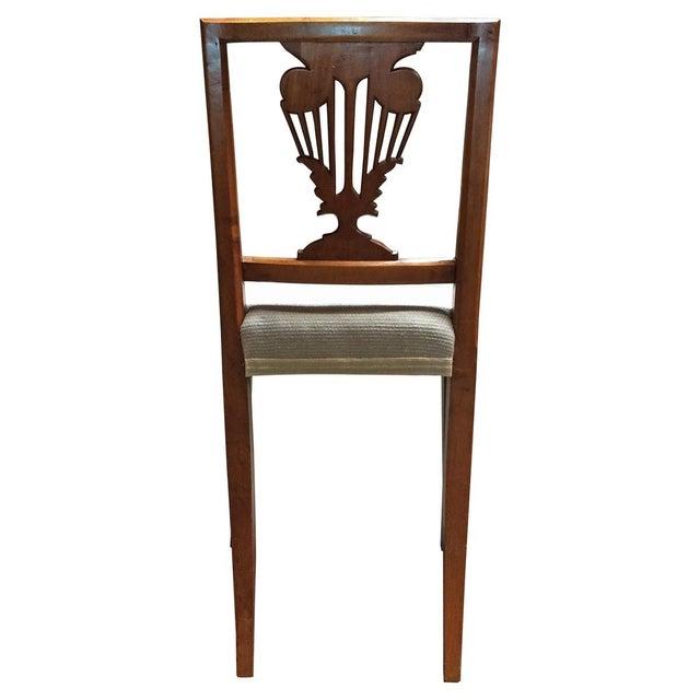 Vintage Diminutive Hepplewhite-Style Chairs - Pair - Image 3 of 6