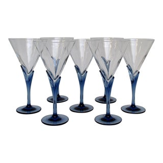 Italian Martini Glasses - Set of 7