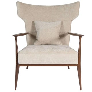Customizable Morris Winged Back Armchair