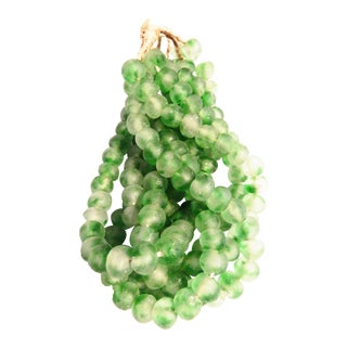 Jumbo Glass Trade Bead Strands,S/5 160 Beads