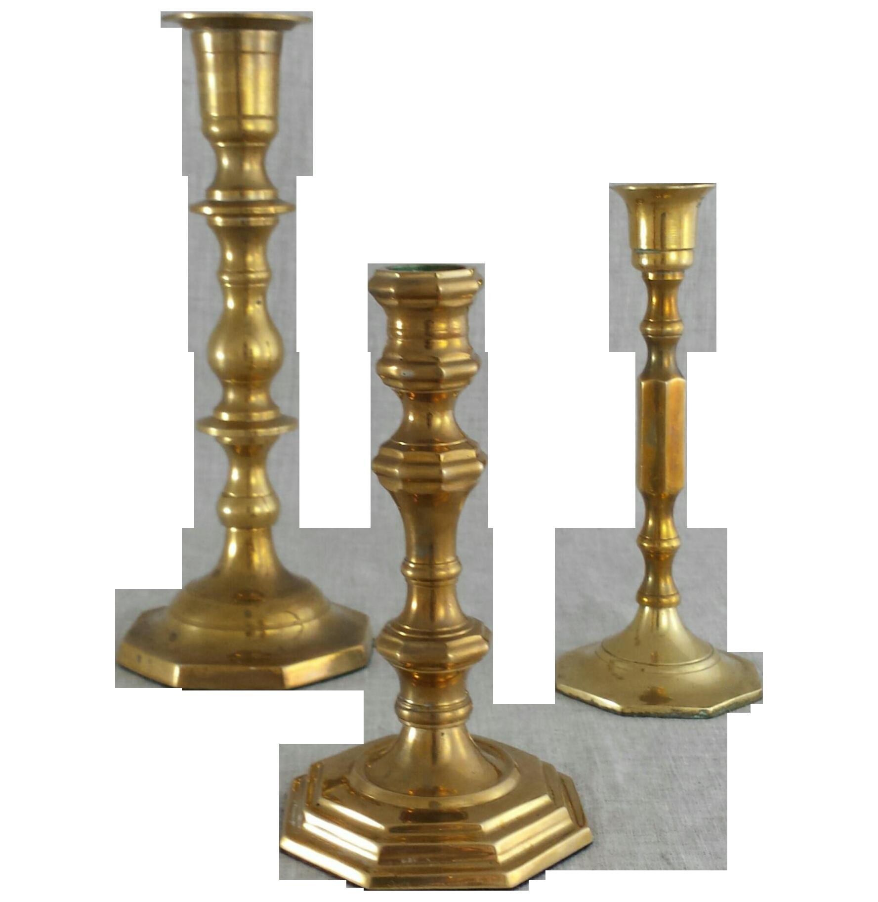 Vintage Brass Candlesticks 53