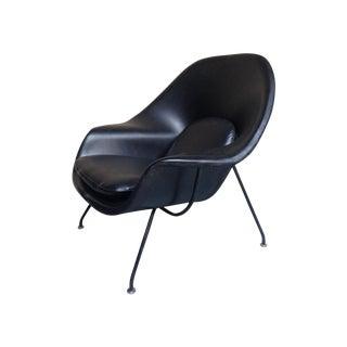Eero Saarinen for Knoll Vintage Black Womb Chair