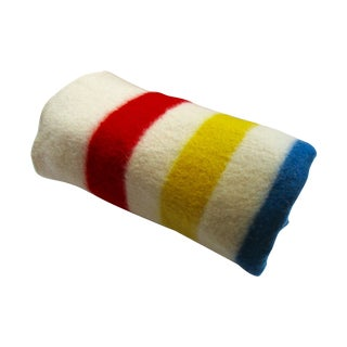 Hudson Bay 100% Wool Camp Blanket