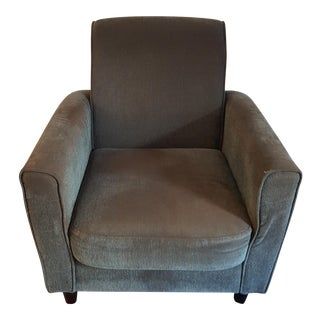 Modern Dusty Blue Armchair