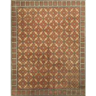 "Modern Hand Knotted Wool Rug - 8'1"" x 10'"