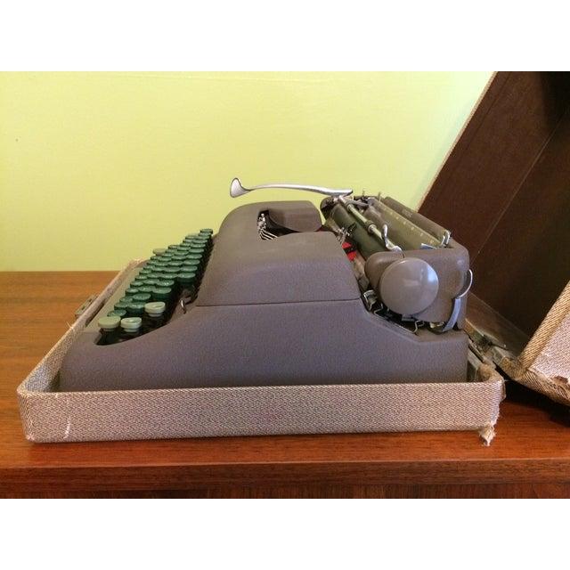 Image of Vintage Smith-Corona Sterling Typewriter & Case