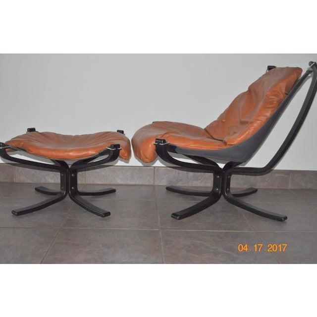 Falcon Chair and Ottoman Set - Image 3 of 8