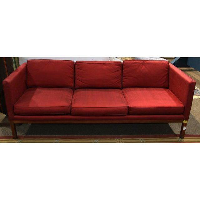 Mid-Century Modern Sofa & Club Chairs - Set of 3 - Image 2 of 6