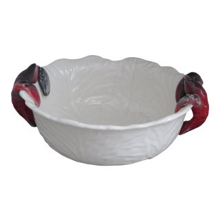 Seafood Ceramic Serving Bowl