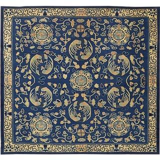 """Antique Peking Chinese Carpet - 14'4"""" x 13'2"""""""