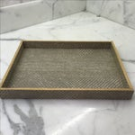 Image of Pigeon & Poodle Boa Tray in Sand
