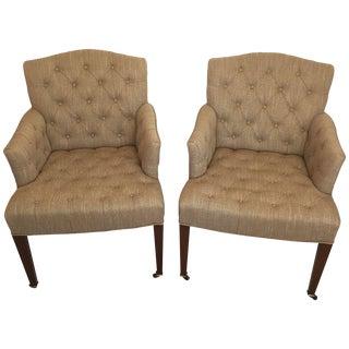 Henredon & Diane von Furstenberg Chairs - A Pair