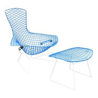 """Mid-Century Modern """"Bird"""" Chair & Ottoman"""