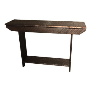 Rustic Wood Sofa Table