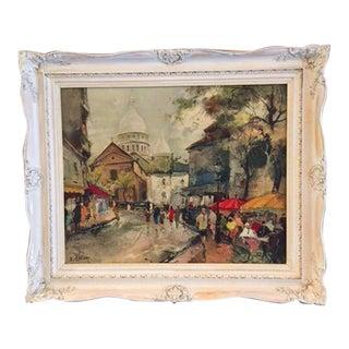"""Francois Claver """"Les Tuileries"""" Print"""