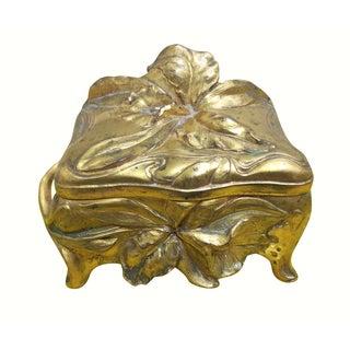 Art Nouveau-Style Jewelry Box